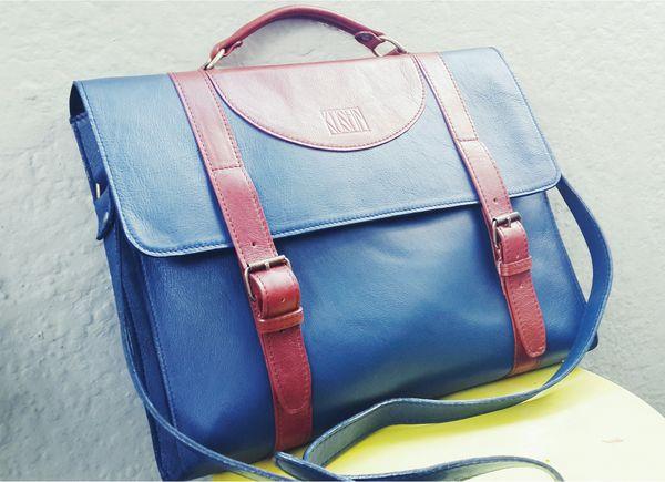 Slim briefcase. www.kushn.co.za