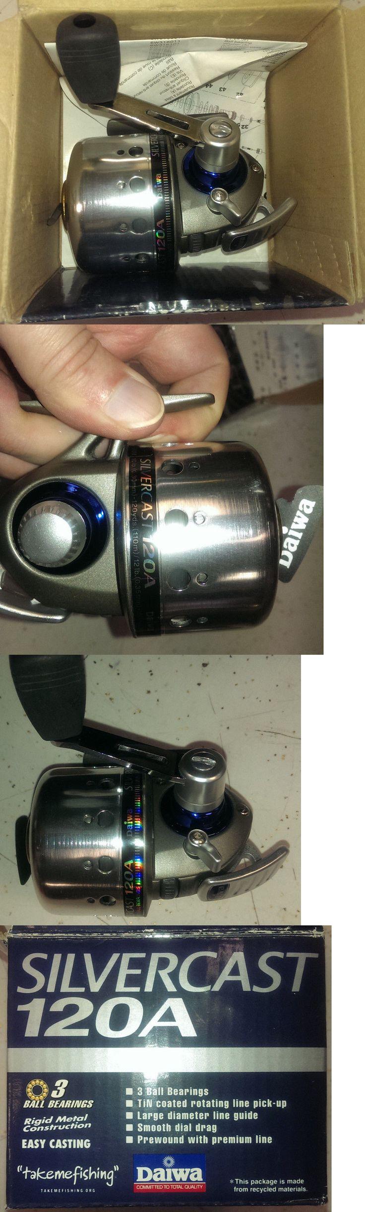Spincasting Reels 108154: Daiwa Silvercast 120A Series Spincast Reel Fishing Reel 3 Bb 4.3:1 Gr -> BUY IT NOW ONLY: $32.22 on eBay!