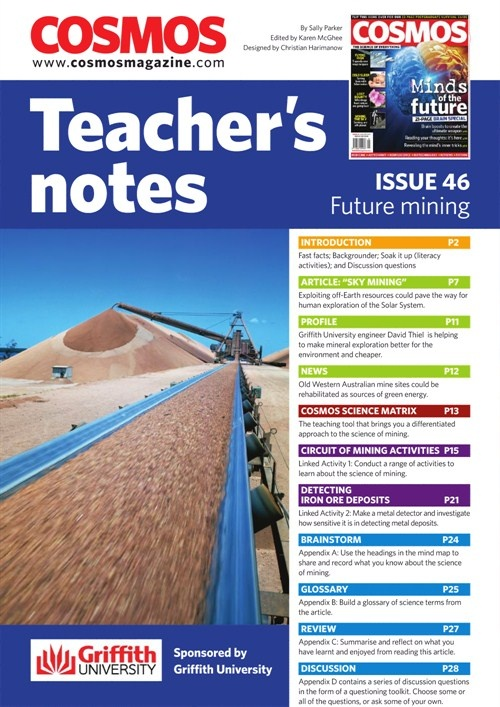 Teachers Notes INT : Issue 46, Future Mining