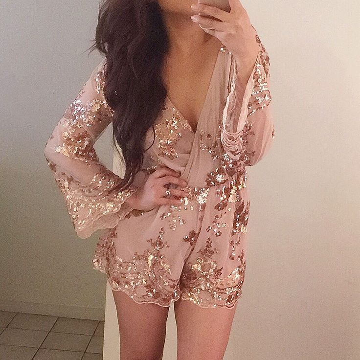 Ciara Rose Gold Playsuit from @stellyclothing @stellyclothing ✨💫💛 Shop www.stell