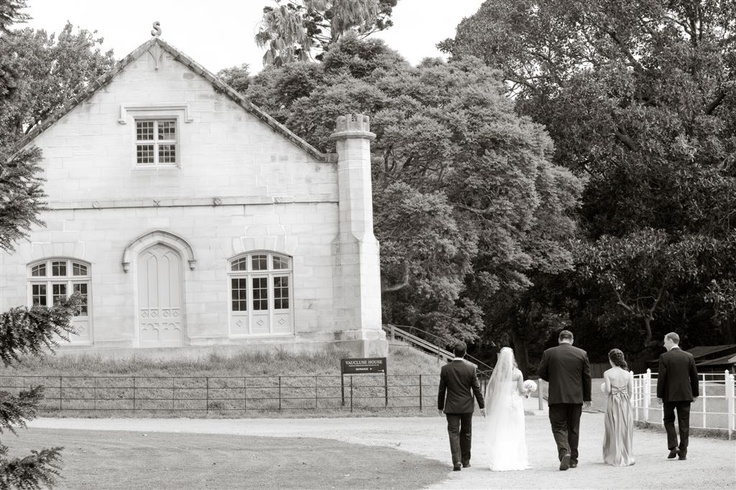 Wedding at Vaucluse House Tearooms