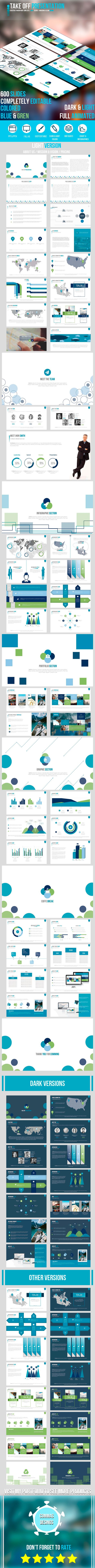 Take Off Presentation (Powerpoint Templates) Preview 20full