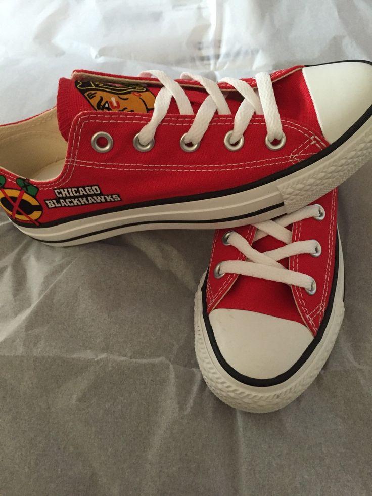 Chicago Blackhawks Converse Shoes Blackhawks Converse NHL Shoes