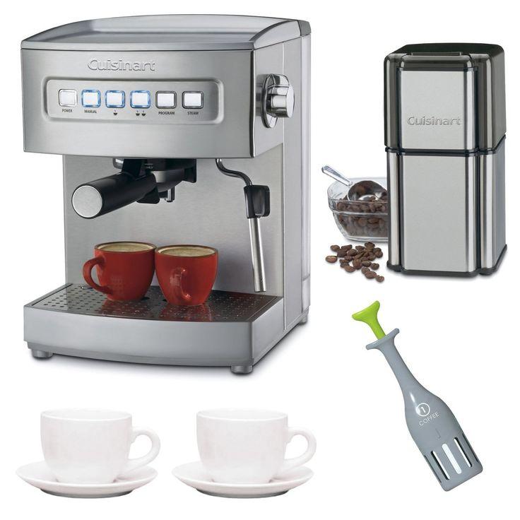 Cuisinart EM 200 8 Cups Espresso Machine Silver