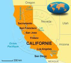 Résultats de recherche d'images pour «carte touristique californie»