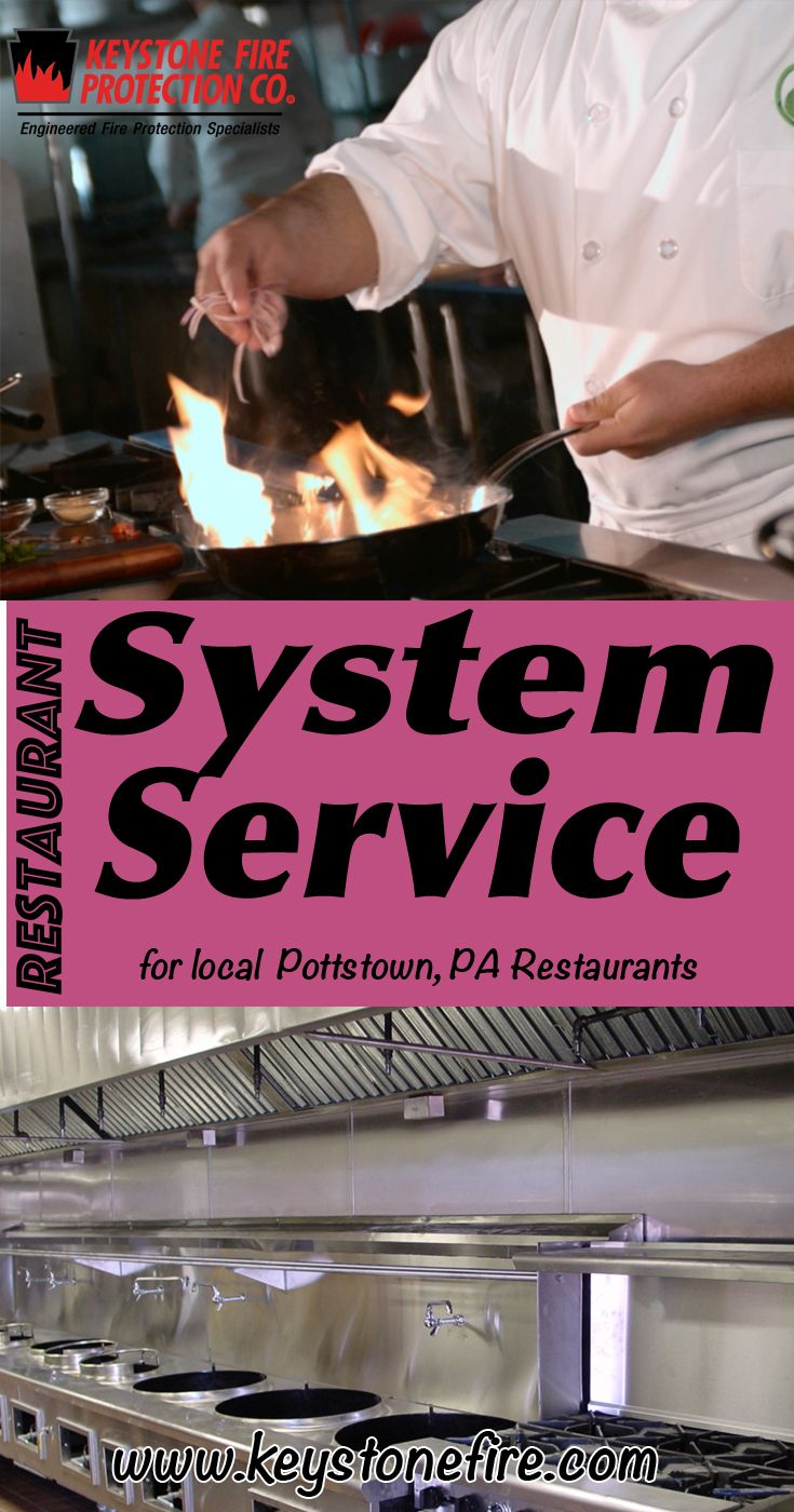 Restaurant System Service Pottstown, PA (215) 641-0100 This is Keystone Fire Protection.  Call us Today for all your Fire Protection needs!Restaurant System Experts are standing by...