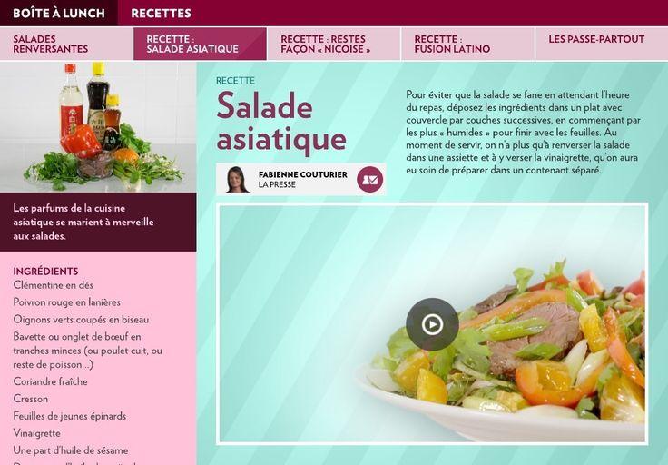 Salades renversantes - LaPresse+