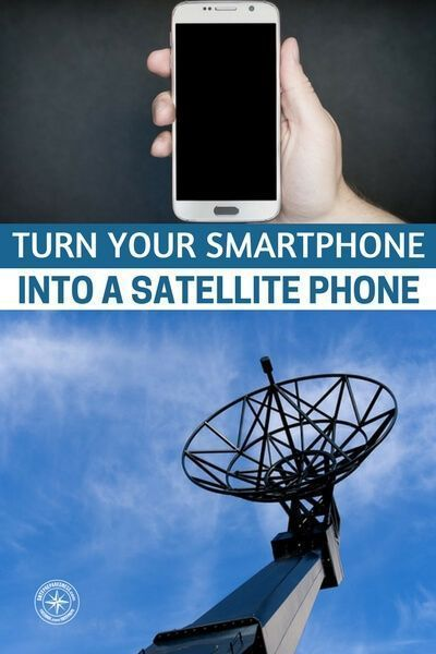 Turn Your Smartphone Into A Satellite Phone — We all know how cell phones can work on one street and then have no signal on another part of the same street. This makes cell phone not the best option for survival if you get lost in the desert or dense woods. #diysatellitephone #satellitephone #diy #shtf #prepping #preparedness #prepper #survival #survivalprepping #preppingsurvivalshtf