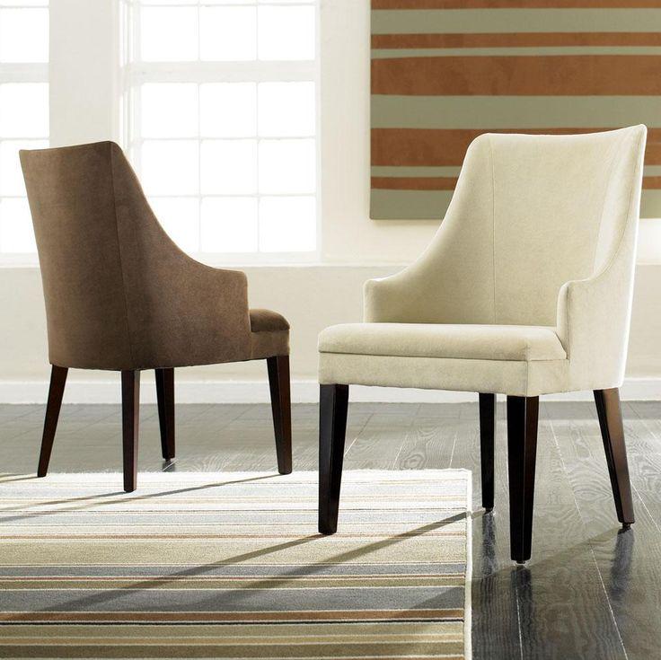 Big Comfy Dinning Room Chairs Sitcom Furniture Set Of 2