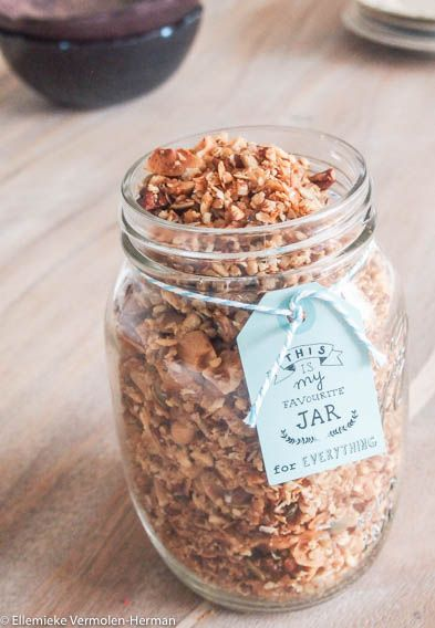 Home made granola Ellemiek vermolen