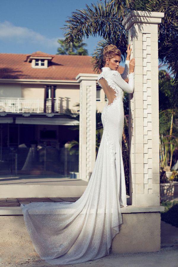 2014 Wedding Dress Hot Trend via Inweddingdress.com #weddingdress, wedding dresses, wedding dresses 2014, summer wedding dresses