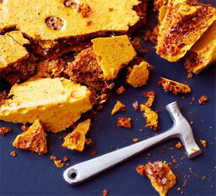 Honeycomb recipe - Recipes - BBC Good Food