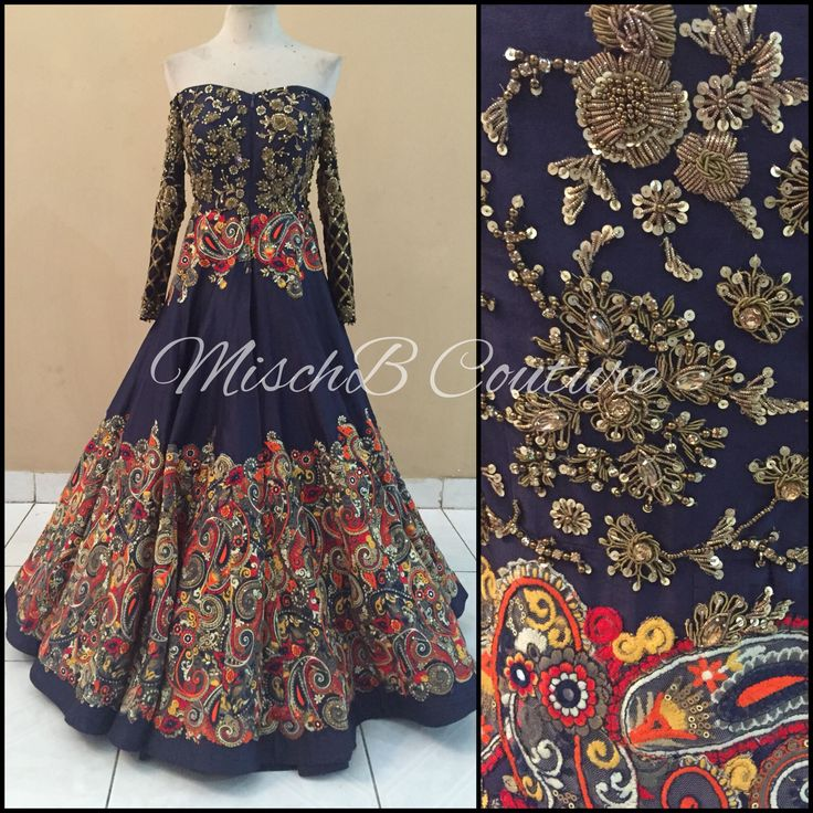 Modern lehenga by MischB Couture