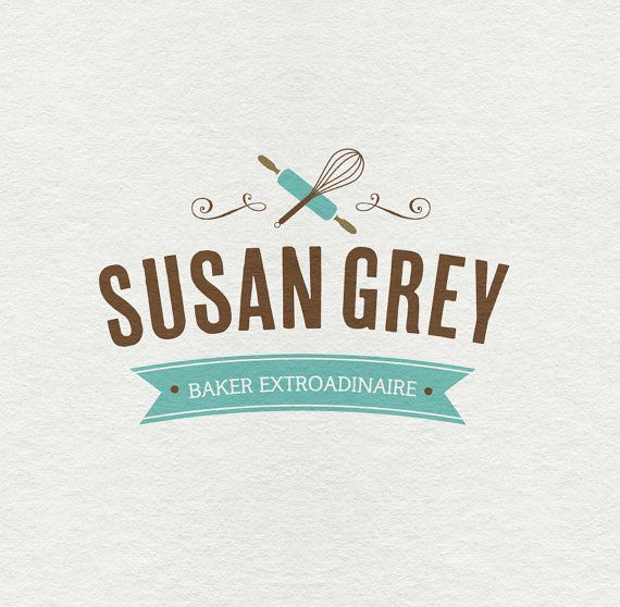 bakery kitchen cooking pre made custom business logo design - Business Logo Design Ideas