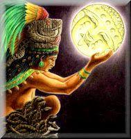 Cantinho dos Deuses - Mitologia Asteca - Coyolxauhqul - deusa da lua