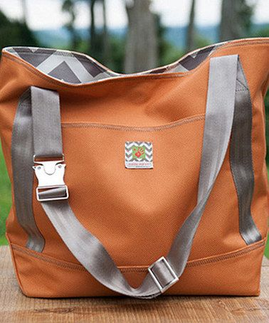 Take a look at this Orange Marvin on the Move Tote on zulily today!