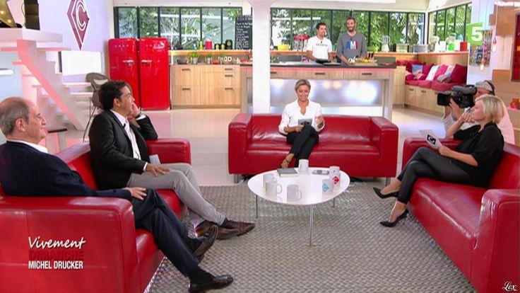 Anne-Elisabeth Lemoine dans C à Vous. Diffusé à la télévision le 08/09/16.