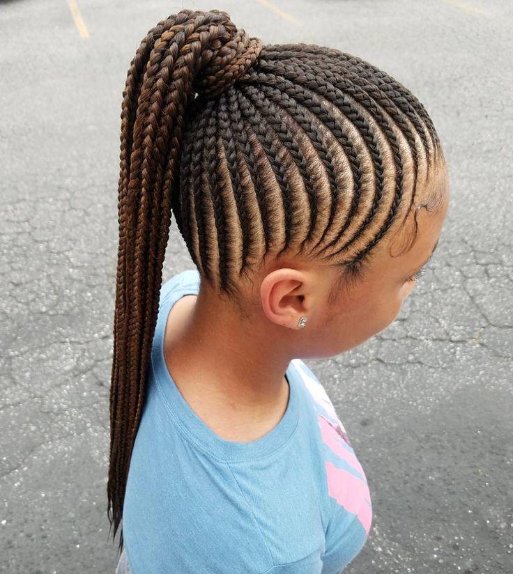 Flawless braids via @kiakhameleon - https://blackhairinformation.com/hairstyle-gallery/flawless-braids-via-kiakhameleon/