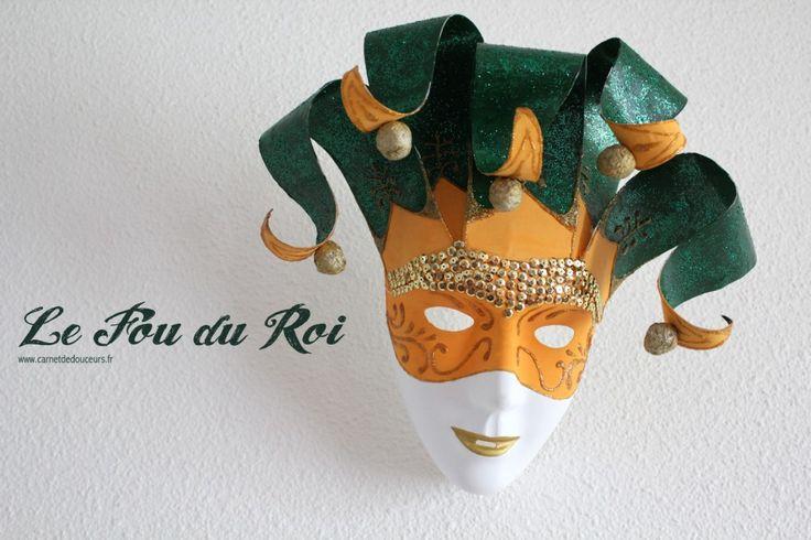 {DIY Masque} Le Fou du Roi par Carnet de Douceurs