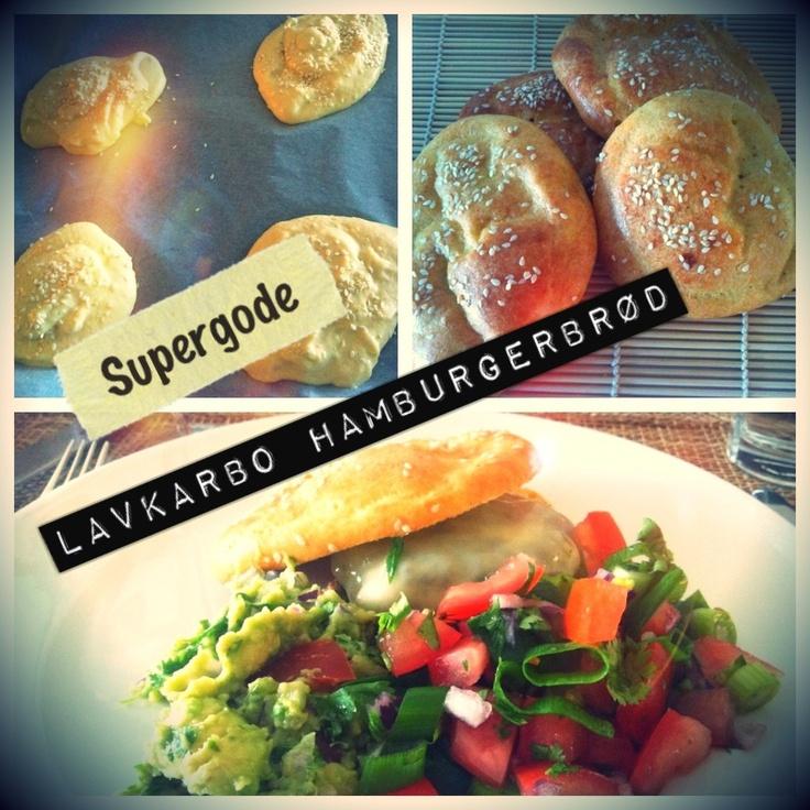 Hamburgerbrød uten karbohydrater | The Kitchn Queen