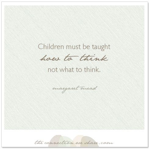 Children grow and interpret the world uniquely. If we as parents nurture the individual expression of these thoughts, we have given them freedom to be who they were born to be.