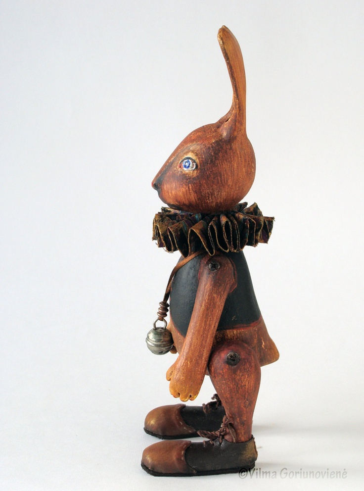 Bunny Art doll OOAK doll Animals Handmade art doll