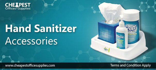 Hand Sanitizer Accessories From Cheapest Office Supplies Store