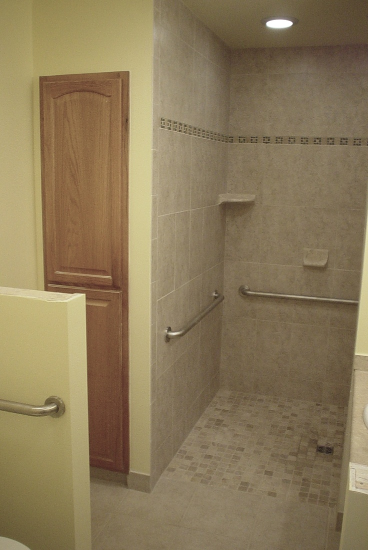 1000 images about handicap bathrooms on pinterest for Ada accessible bathroom