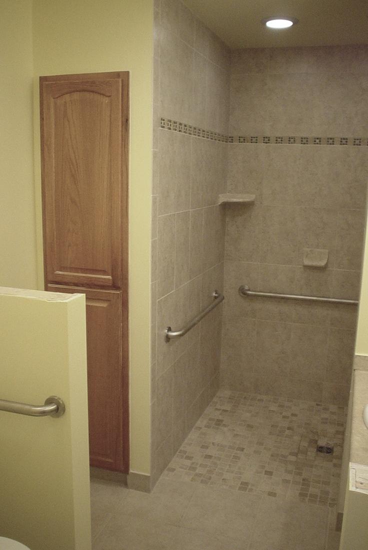 1000 Ideas About Handicap Bathroom On Pinterest Grab Bars Ada Bathroom And Wheelchair Ramp