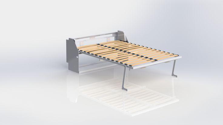 best 25 m canisme lit escamotable ideas on pinterest m canisme de lit escamotable chambre de. Black Bedroom Furniture Sets. Home Design Ideas