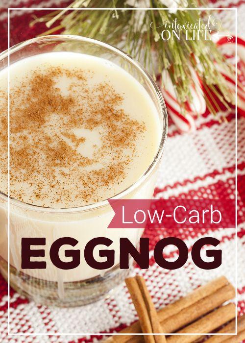 Low-Carb Eggnog Recipe