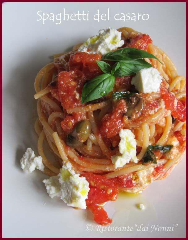 spaghetti del casaro