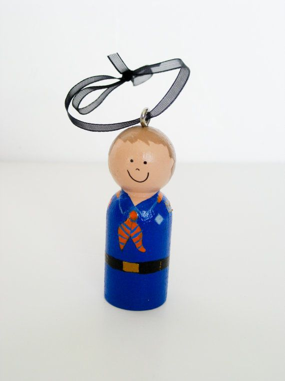 Custom Boy Scout or Tiger Scout Ornament