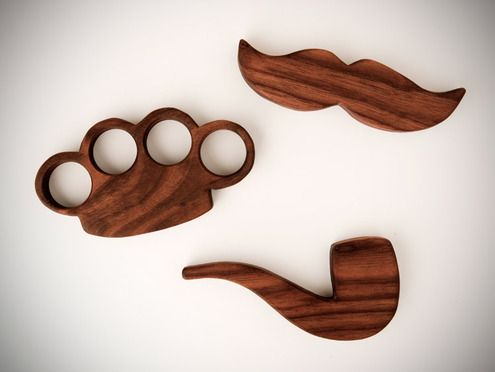 "How to: Make DIY ""Manly"" Wooden Teething Toys"