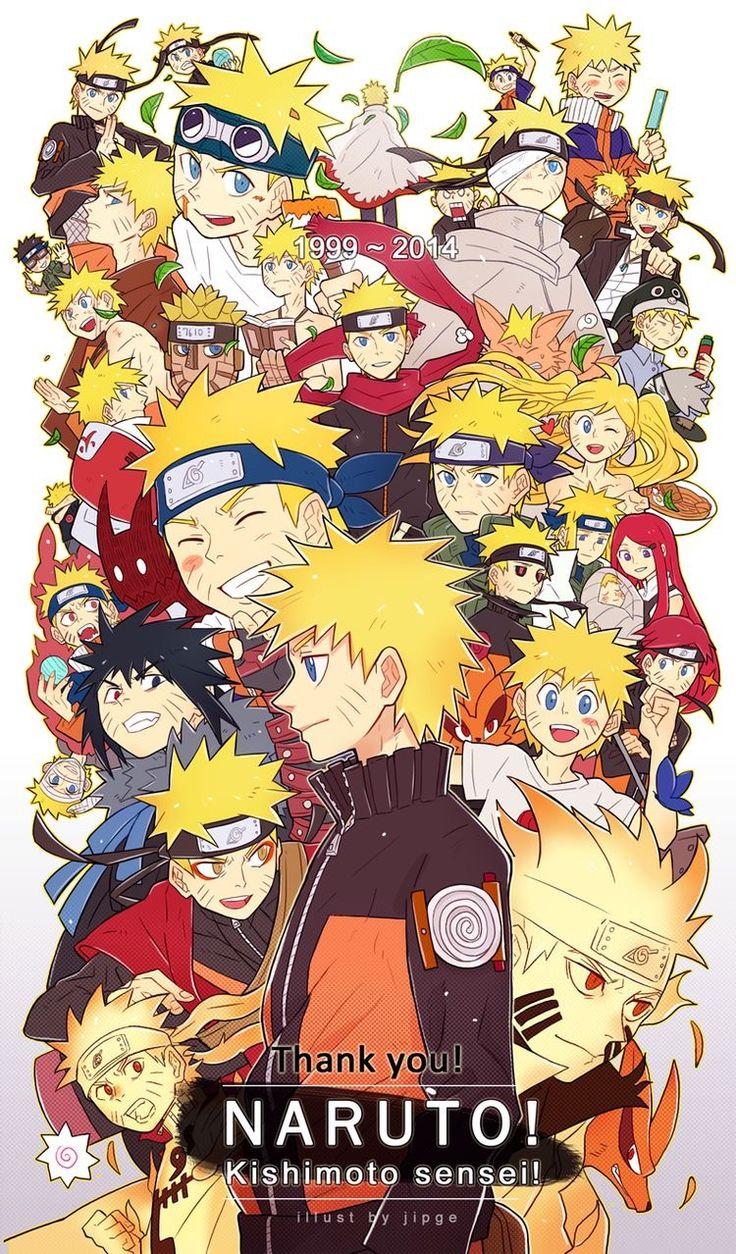 Uzumaki Naruto || Uzumaki Menma || Namikaze Minato || Uzumaki Kushina || Naruto || Naruto Shippuden || Naruto The Last || Naruto Gaiden