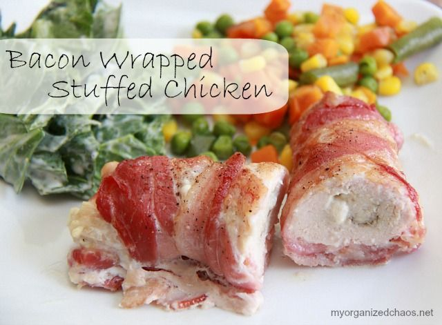 Bacon wrapped stuffed chicken recipe from Philly Ambassador @Tammi Nepia Roy   #delicious