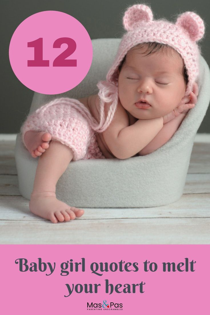 6 baby girl quotes that will melt your heart  Baby girl quotes