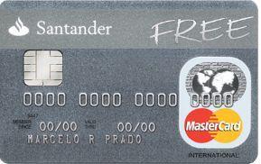 Cartão Santander Free - Veja como é fácil solicitar cartão de crédito Santander Free livre de anuidade...