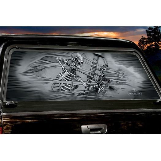 Mr Bones Large Rear Truck Window Tint Trucks Products