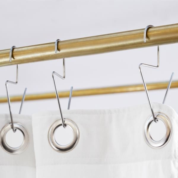 Venice Hooks Stainless Steel Shower Curtain Hooks Shower