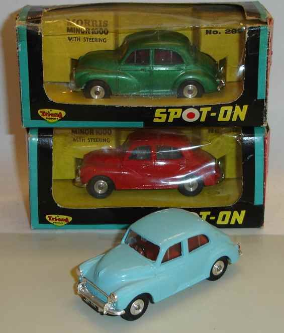 Spot On - Saloons and Sportscars Morris Minor 1000
