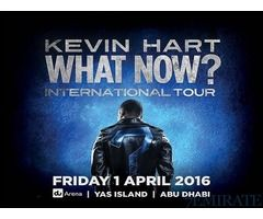 Tickets for Kevin Hart What Now in Dubai