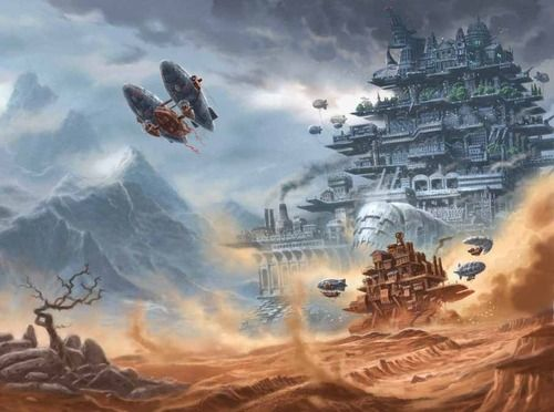 Mortal Engines by Philip Reeve by ~3-hares