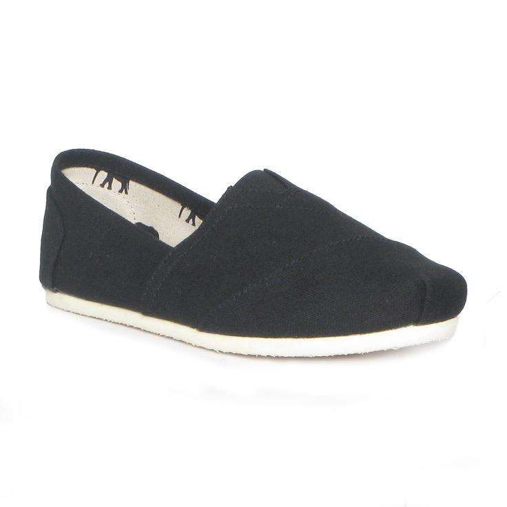 Shoe Zone Mens Canvas Shoes
