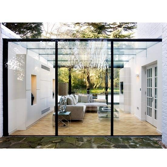 Glass conservatory | Modern conservatories | 10 of the best modern conservatories | Modern conservatory ideas | Conservatory ideas | Livingetc | PHOTO GALLERY