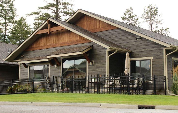 RusticSeries Lap Siding in Coastal Gray on a Custom Single Family Home