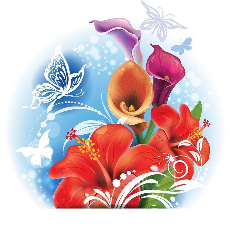 Tropical flowers - Trópusi virágok - Megaport Media
