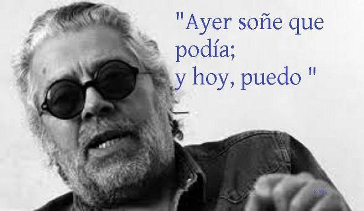 Nuestro querido Facundo Cabral,cantante, compositor, escritor, poeta y dibujante argentino, tuvo una infancia muy dura, con carencias y necesidades básicas.  Estudió música y en