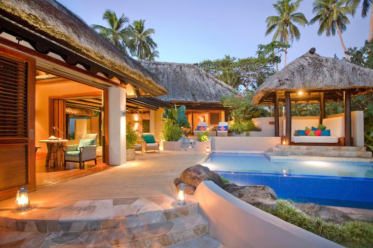 Discover Fiji's ultimate luxury resort in one of the world's most spectacular settings. FijiResort.com #luxuryresort  #fijiluxurytravel #luxuryvacations