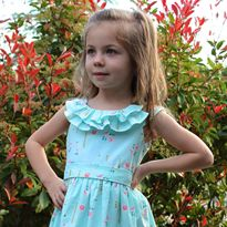 How to Sew Ruffles into a Neckline   GIVEAWAY